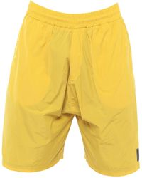 McQ Pantalons de plage - Jaune