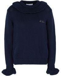 Maison Labiche Pullover - Blau