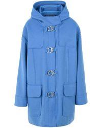 Department 5 Coat - Blue