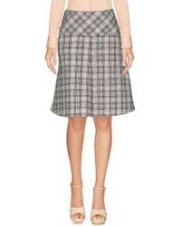 Ean 13   Knee Length Skirt   Lyst