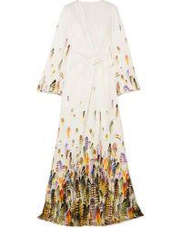 Jenny Packham Vestido largo - Blanco