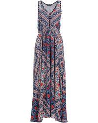 Pepe Jeans Long Dress - Blue