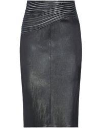 Jitrois Midi Skirt - Black