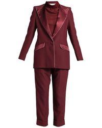 Hebe Studio Anzug - Rot