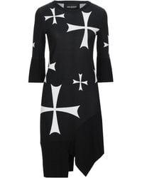 Neil Barrett Short Dress - Black
