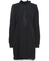 Angela Davis Short Dress - Black