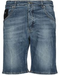 John Richmond Short en jean - Bleu