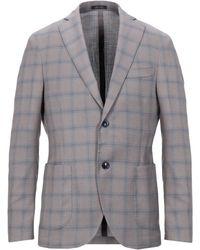 BRERAS Milano Suit Jacket - Grey