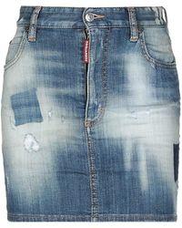 DSquared² Jupe en jean - Bleu
