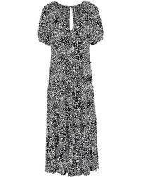 Free People Midi Dress - Black