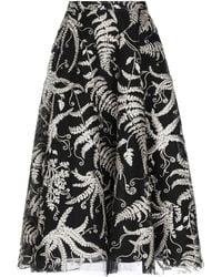 Marchesa Long Skirt - Black