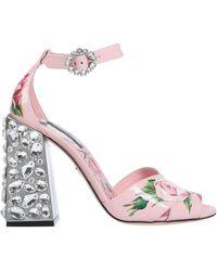 Dolce & Gabbana Sandale - Pink