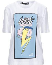 Love Moschino T-shirt - Bianco