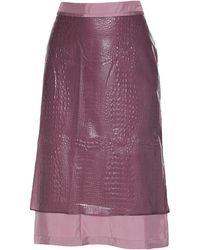 Sies Marjan Midi Skirt - Purple