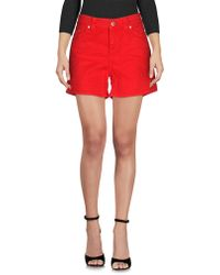 Dondup Shorts jeans - Rosso