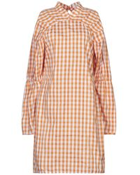 NA-KD Kurzes Kleid - Orange