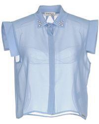 Maison Espin Shirt - Blue