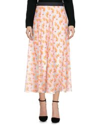 Twisty Parallel Universe - 3/4 Length Skirts - Lyst