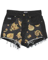 Versace Jeans Couture Denim Shorts - Black