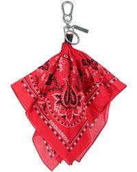 DSquared² Schlüsselanhänger - Rot