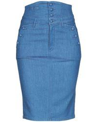 Miss Sixty - Denim Skirt - Lyst