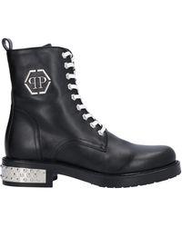 Philipp Plein Ankle Boots - Black