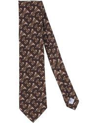 Burberry Ties & Bow Ties - Brown