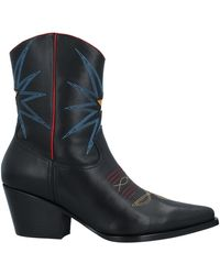 Lola Cruz Ankle Boots - Black