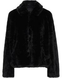 Obey Teddy Coat - Black