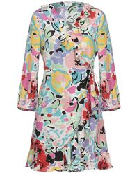 RIXO London - Short Dress - Lyst