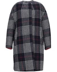 Isabel Marant Harrison Reversible Wool Coat - Blue