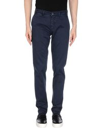 Henry Smith Casual Trouser - Blue