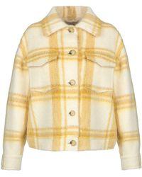 ALEXACHUNG Coat - Yellow