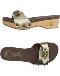 Flogg Mules - Metallic