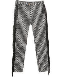 Frankie Morello Trousers - Black