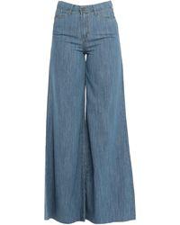 ..,merci Denim Trousers - Blue