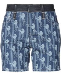 Chloé Denim Bermudas - Blue