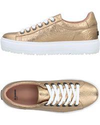 Jil Sander Navy Low-tops & Sneakers - Metallic