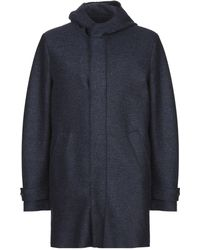 Harris Wharf London Coat - Blue