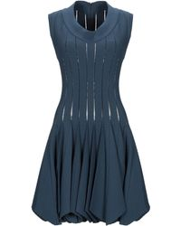 Alaïa Short Dress - Blue