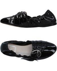 Dior Bailarinas - Negro