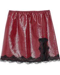 Giamba Mini-jupe - Rouge