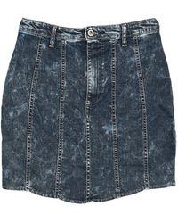 Please Denim Skirt - Blue