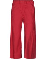 TRUE NYC Pantalones - Rojo