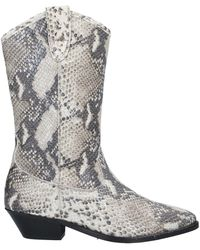Catarina Martins Ankle Boots - Grey