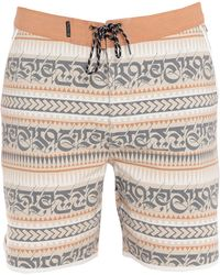Hurley Beach Shorts And Trousers - Natural