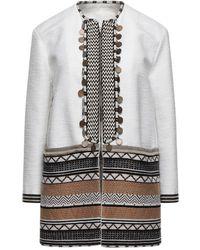 Bazar Deluxe Overcoat - White