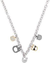 Karl Lagerfeld Necklace - Metallic
