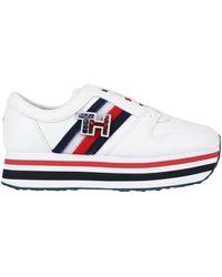 Tommy Hilfiger Low Sneakers & Tennisschuhe - Weiß