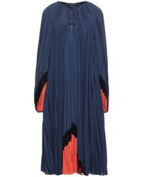 Barbara Bui Midi Dress - Blue